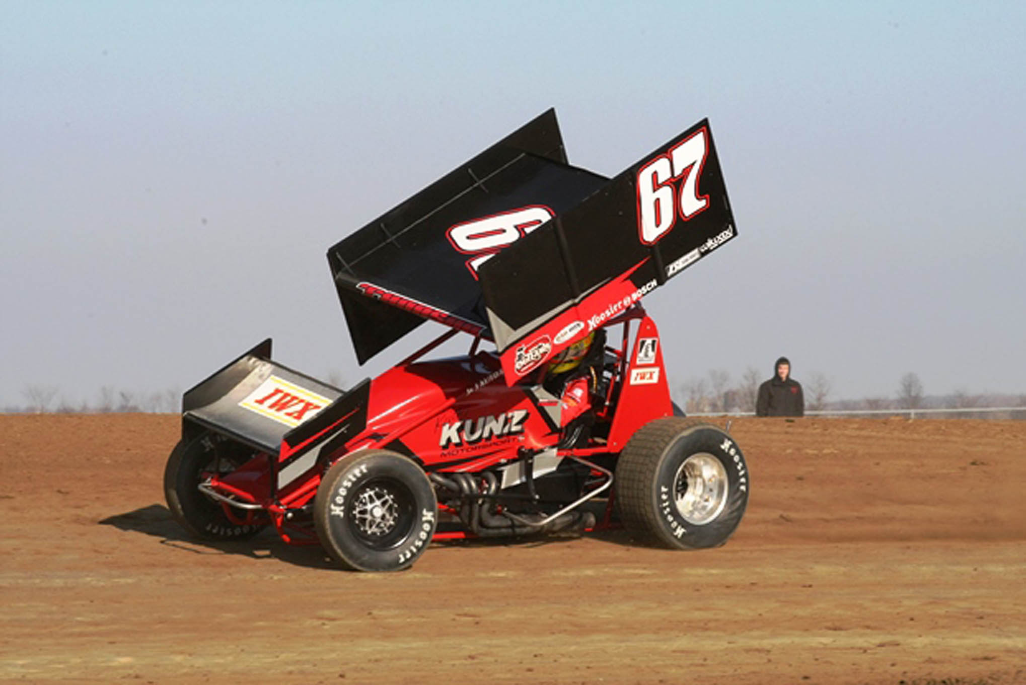Tanner Thorson was on hand for the opener at Attica.