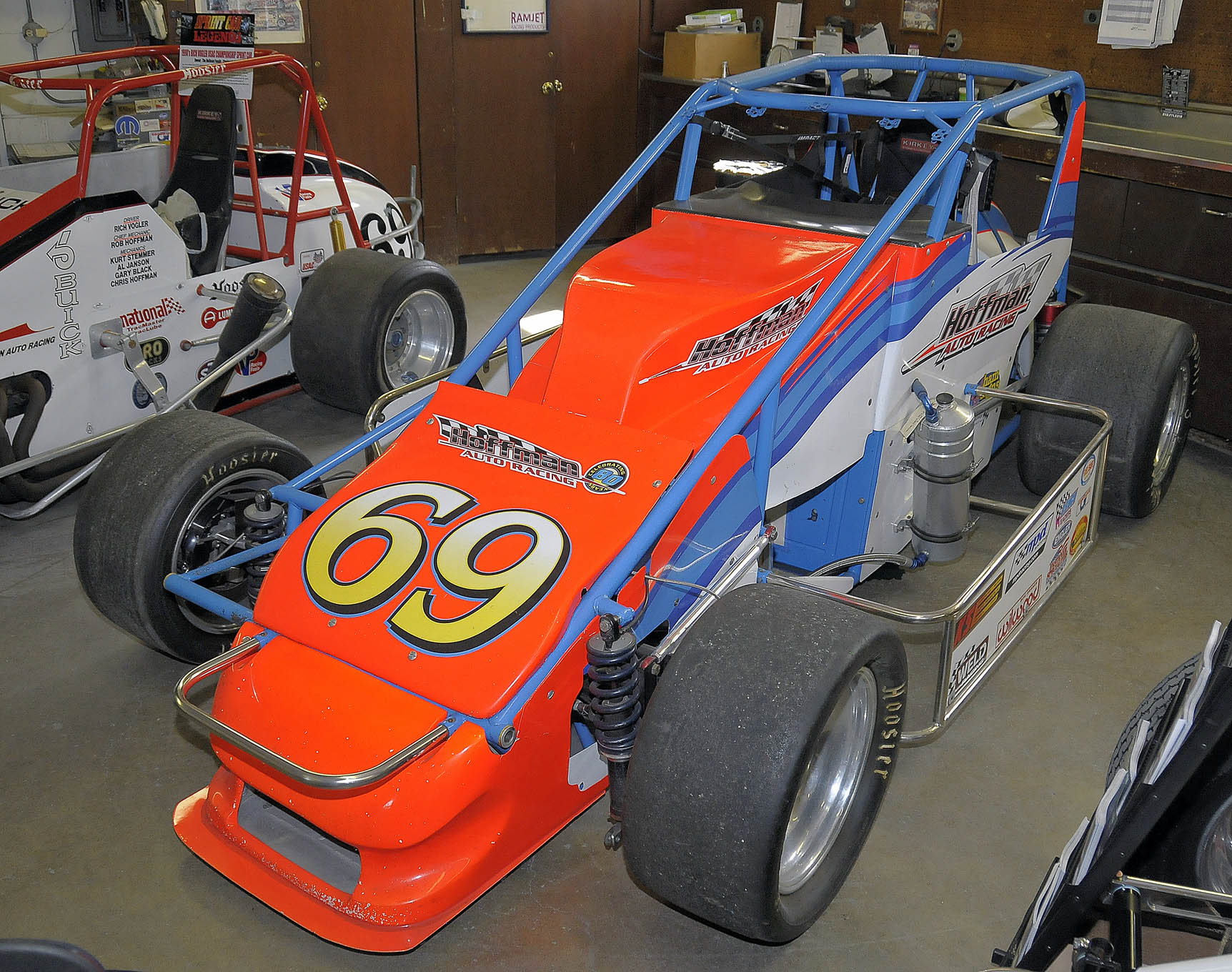 The famous V-6 powered pavement sprint car.