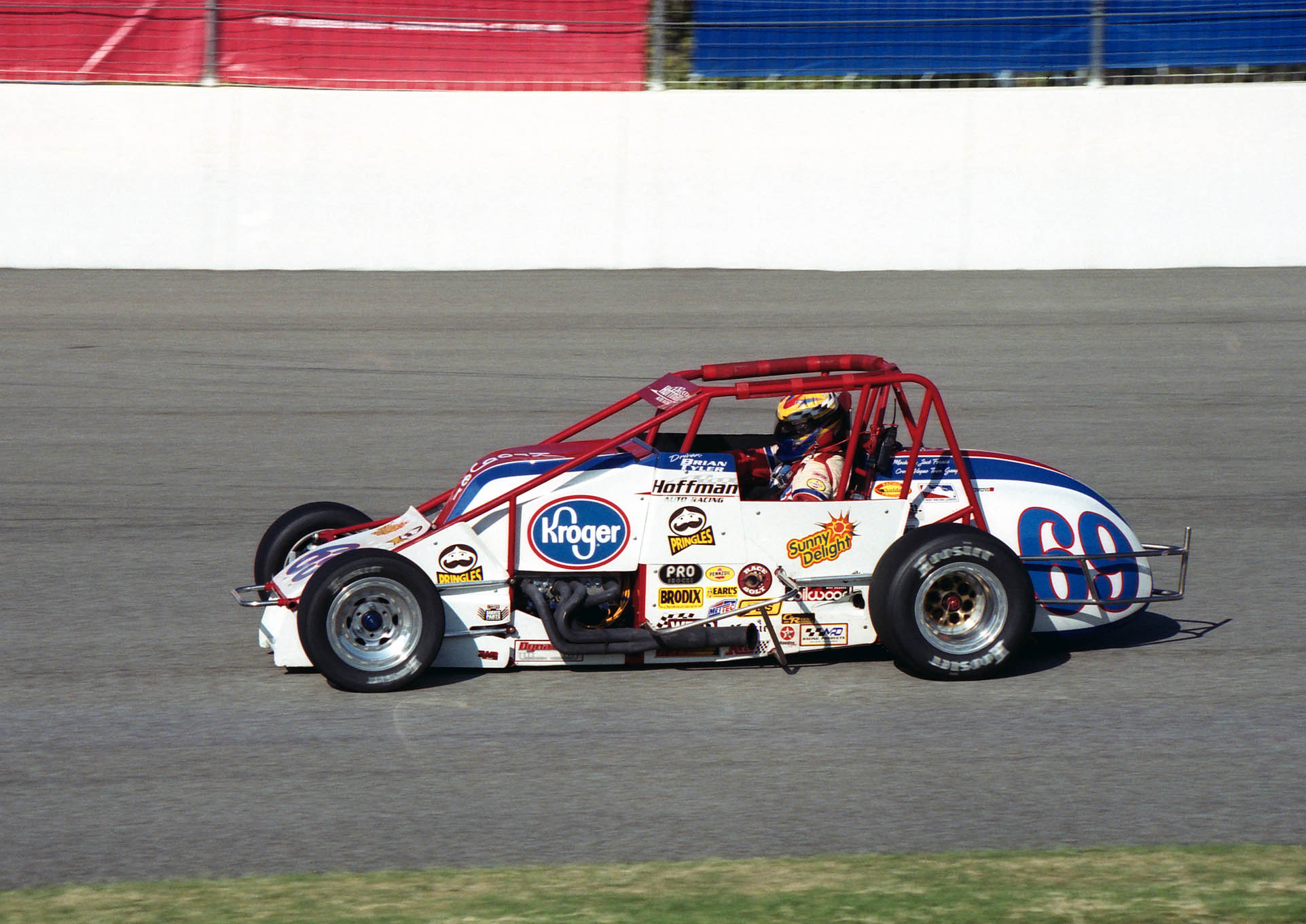Brian Tyler won four USAC Silver Crown races for the Hoffman team.