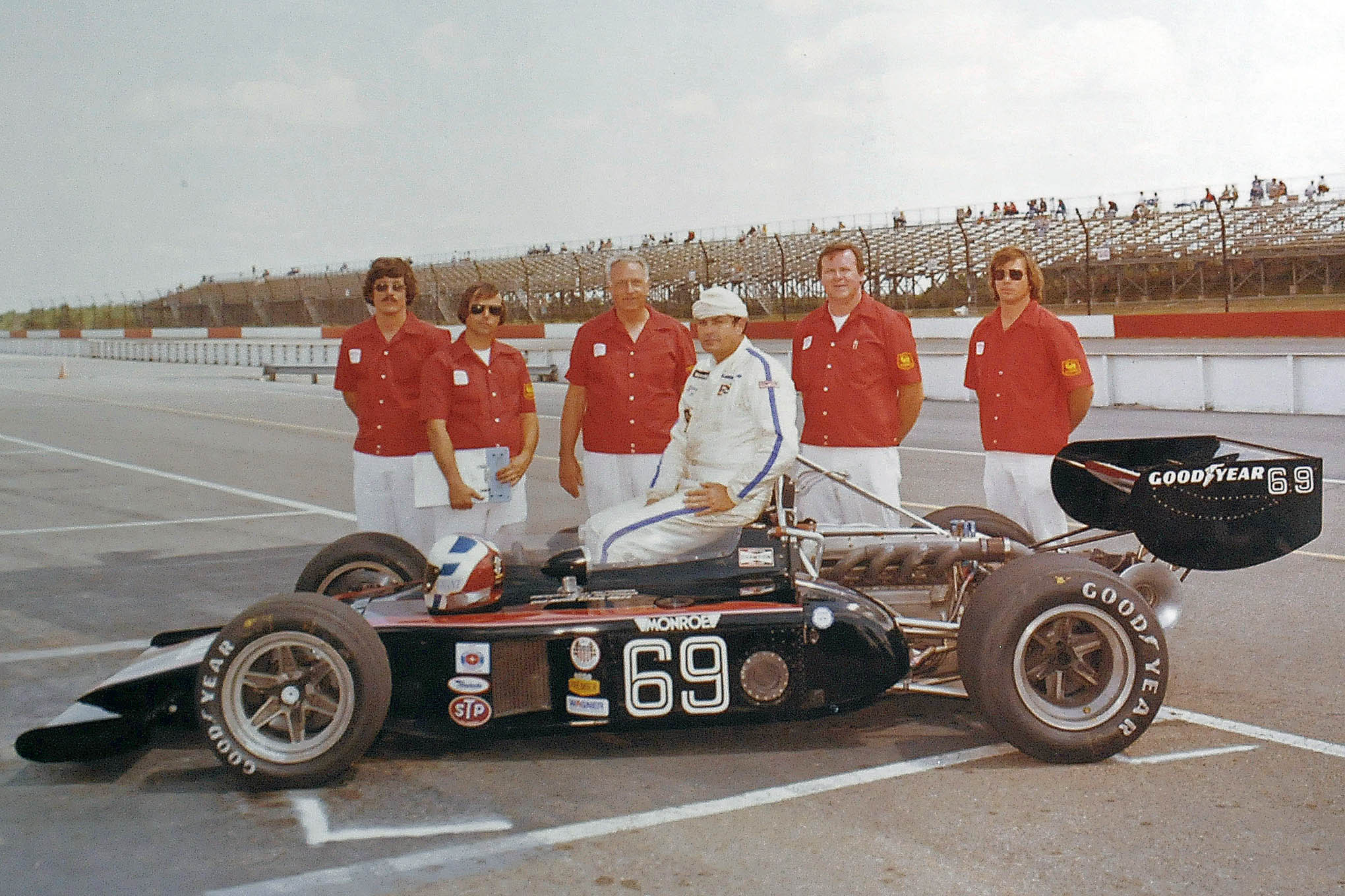 The Hoffman #69 Indy Car in 1978.