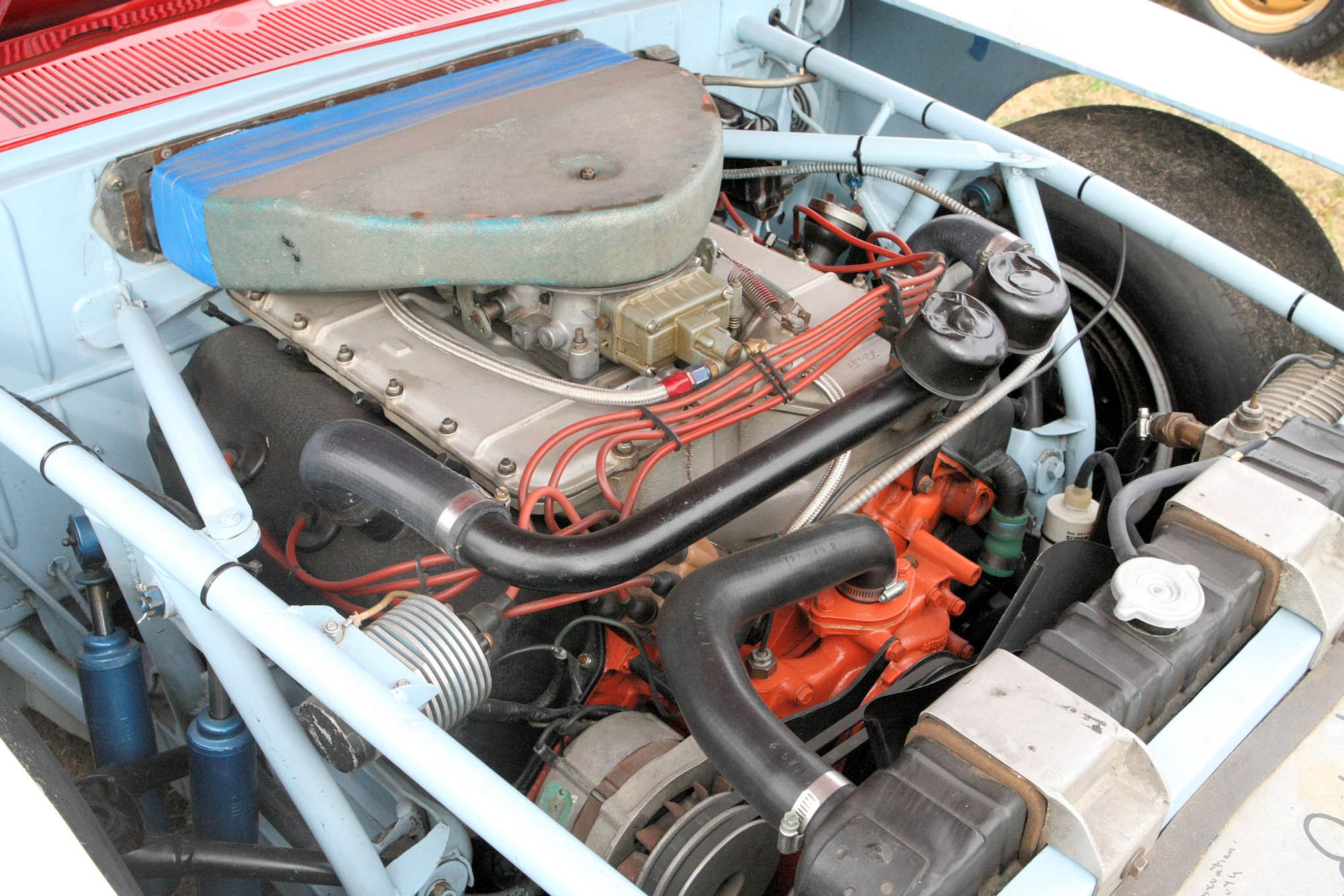 The Dodge early 1970's Big Block Hemi – a very successful engine in its day.