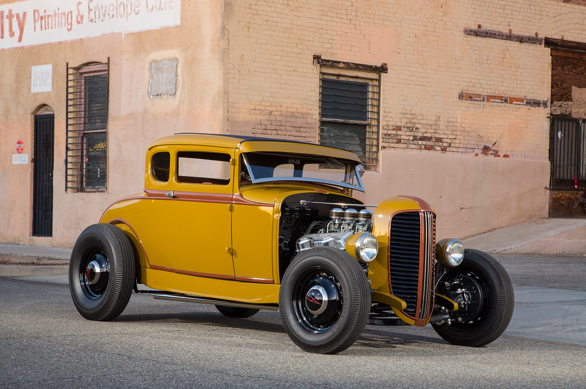 More than a dozen years in the making, Colby Martin's '31 Model A five-window is a detail-rich rolling testament to the longtime automotive passion shared by Colby and his father, Al. It also speaks to the generosity of Southern California's rodding community, as several of Colby and Al's buddies gladly donated parts, time, and expertise to make their vision a reality.