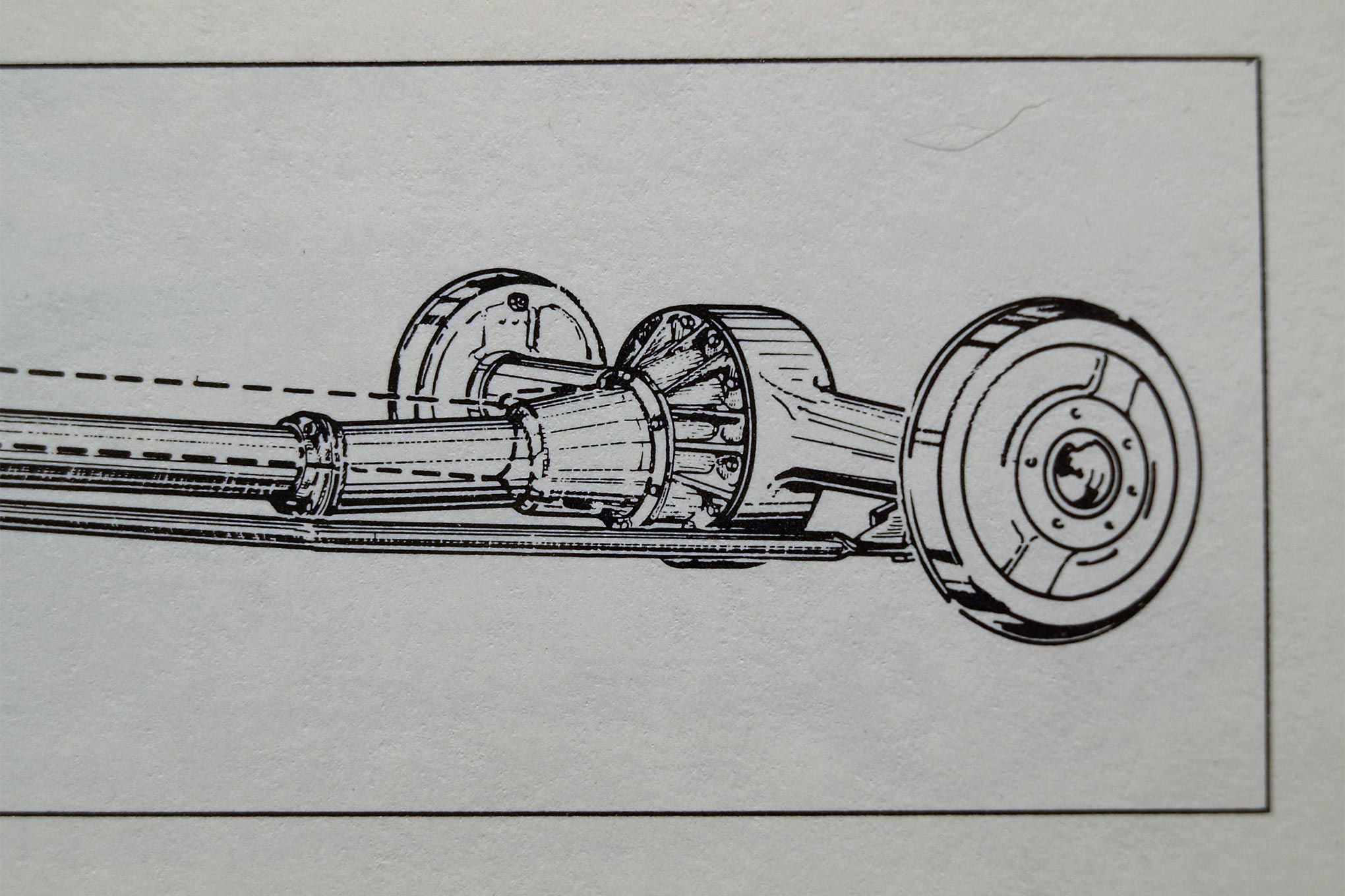 "Vintage Buick ads read, ""When better cars are built, Buick will build them."" Buick's torque tube drive concealed a rotating driveshaft inside a stationary housing."