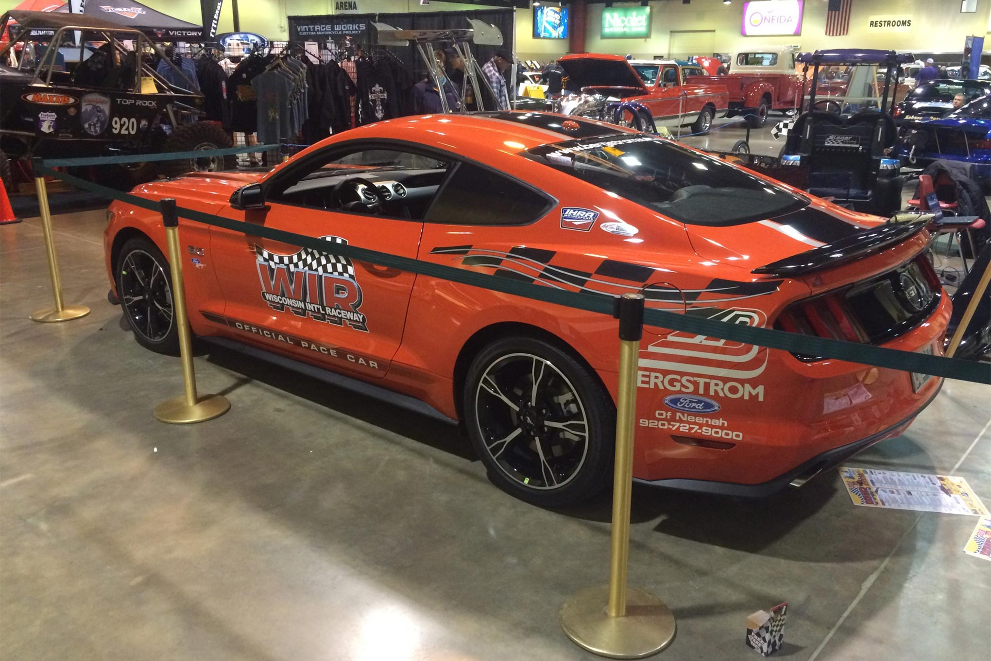 Wisconsin International Raceway's Pace Car for 2016.