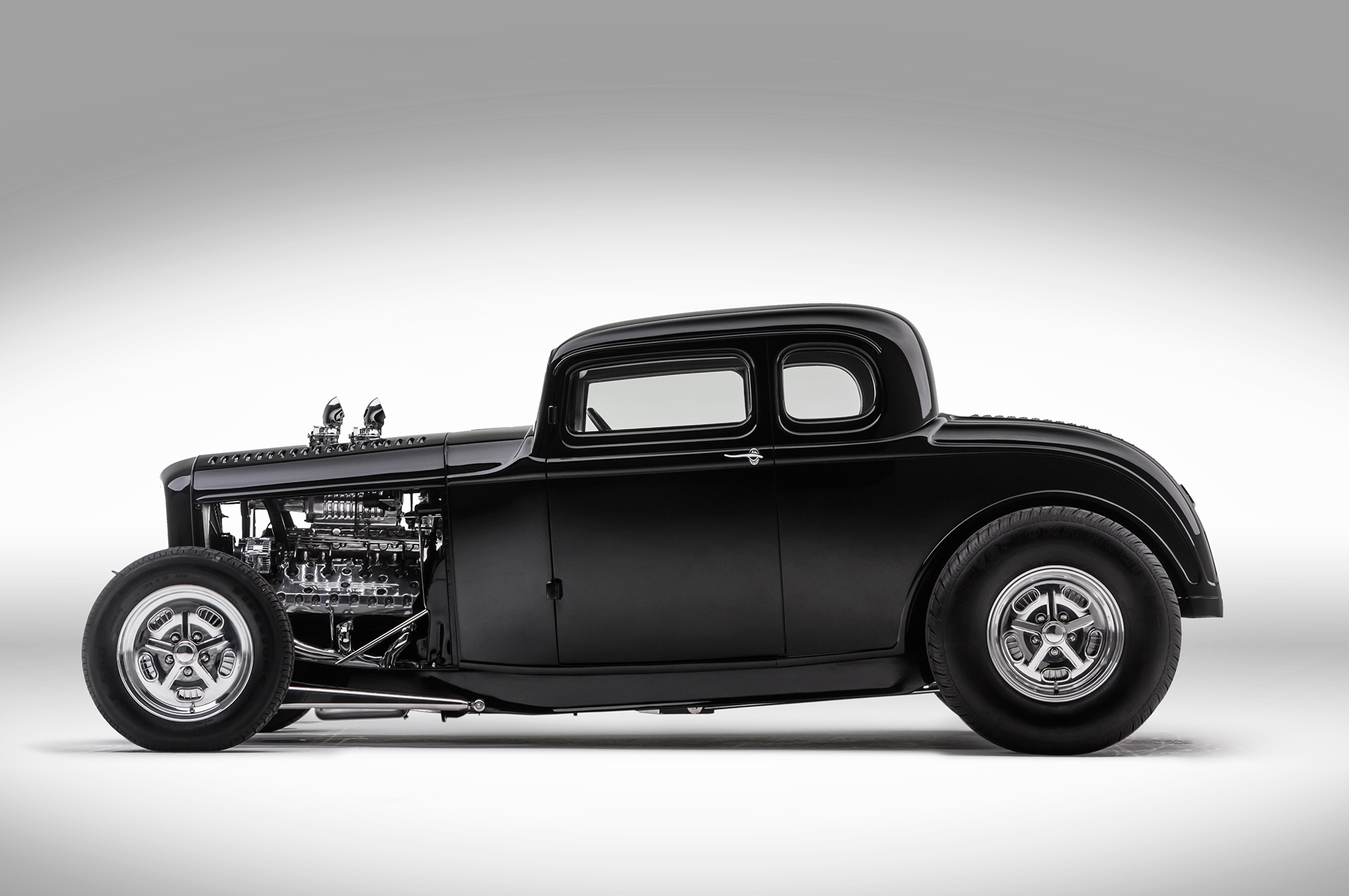 1932 Ford Coupe S Blown Flathead And Wild Chop Hot Rod