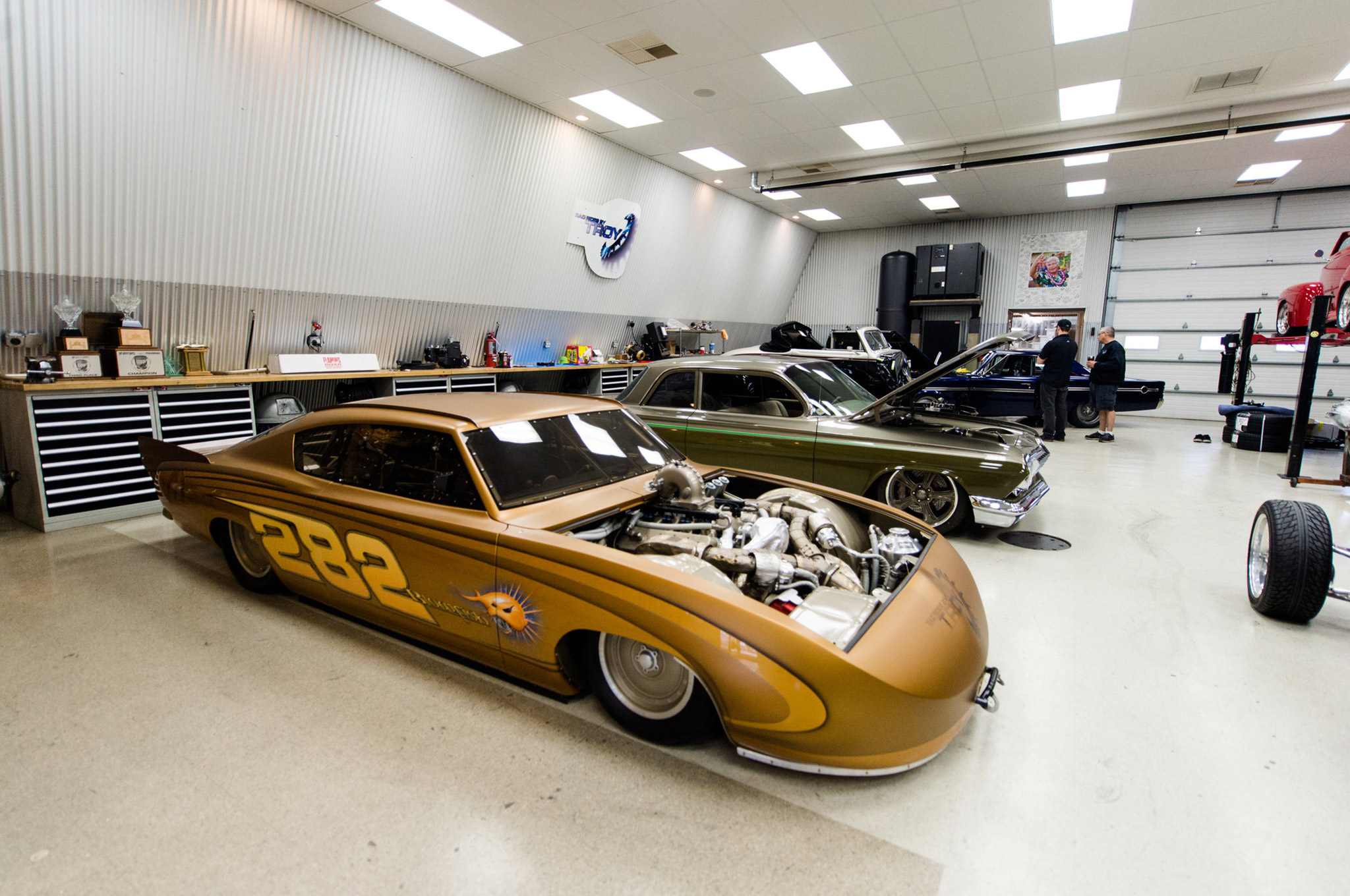 Blowfish has seen a number of engines in order to take records in several classes at Bonneville.