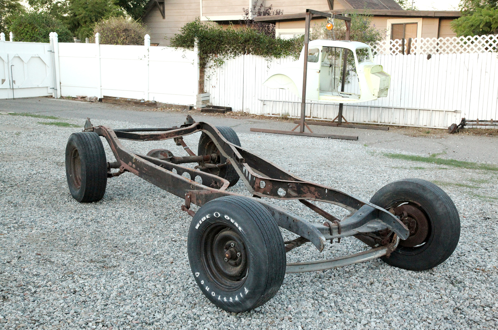 Homemade Car Frame >> Boxing A 1933 Or 1934 Ford Frame Hot Rod Network
