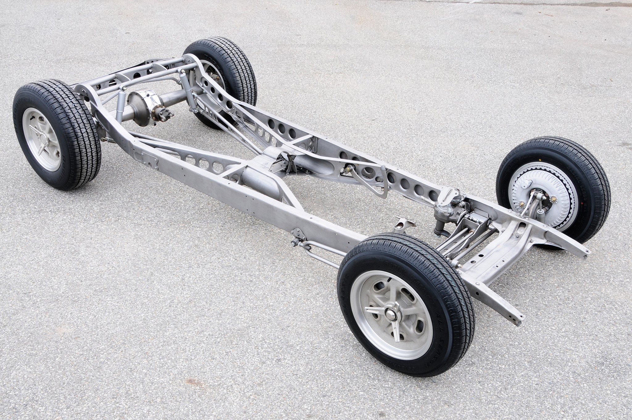 Lest you think Ionia only works on Ford chassis, here's a unique Chevy chassis going for a client, Dave Thomas. Photo: Chuck Vranas.