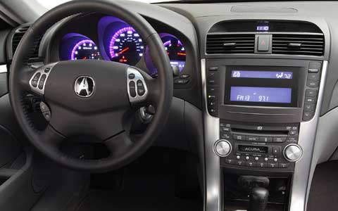 Z Acura Tl Interior View Cockpit Steering Wheel on Acura Tlx