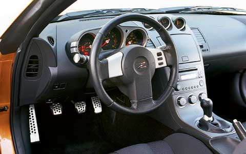 2003 Nissan 350z Price Specs Review Amp Road Test Motor