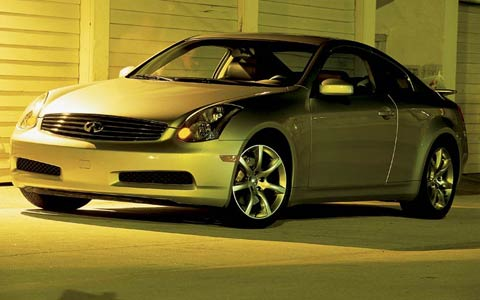2003 infiniti g35 sport specs price review road test. Black Bedroom Furniture Sets. Home Design Ideas