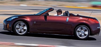 2006 Bmw Z4 3 0si Vs 2006 Nissan 350z Roadster Vs 2007