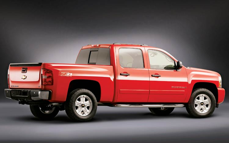 2007 Motor Trend Truck Of The Year Chevrolet Silverado Road Test Review Motor Trend