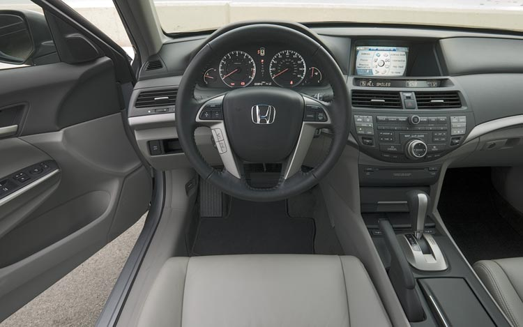 Z Honda Accord Interior View