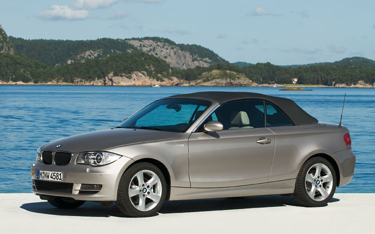 2008 Bmw 1 Series Convertible First Drive Motor Trend