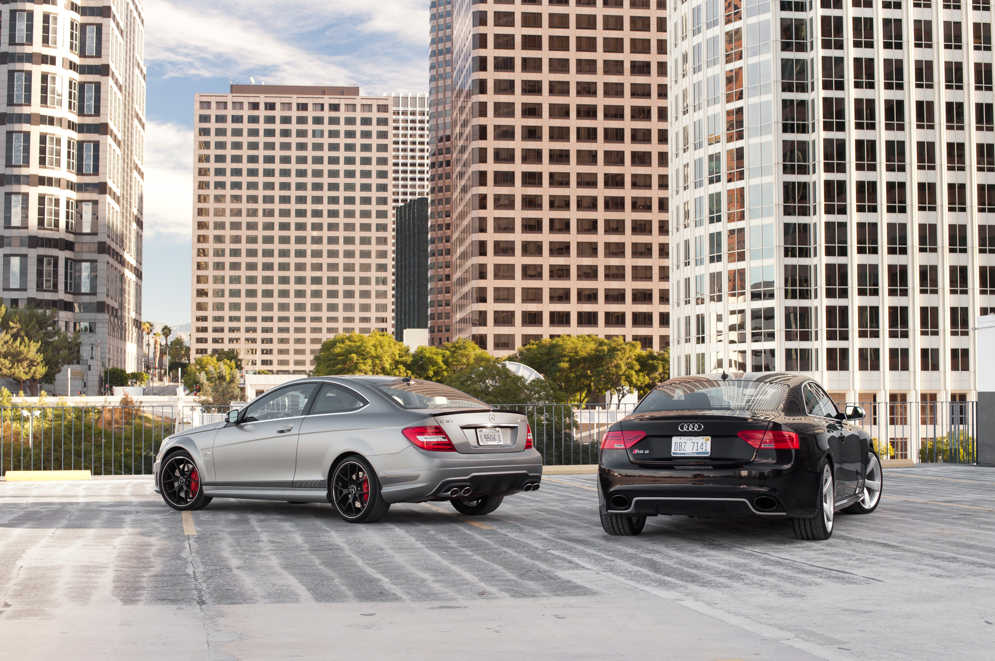 2014 Audi Rs 5 Vs 2014 Mercedes Benz C63 Amg 507 Comparison Motor
