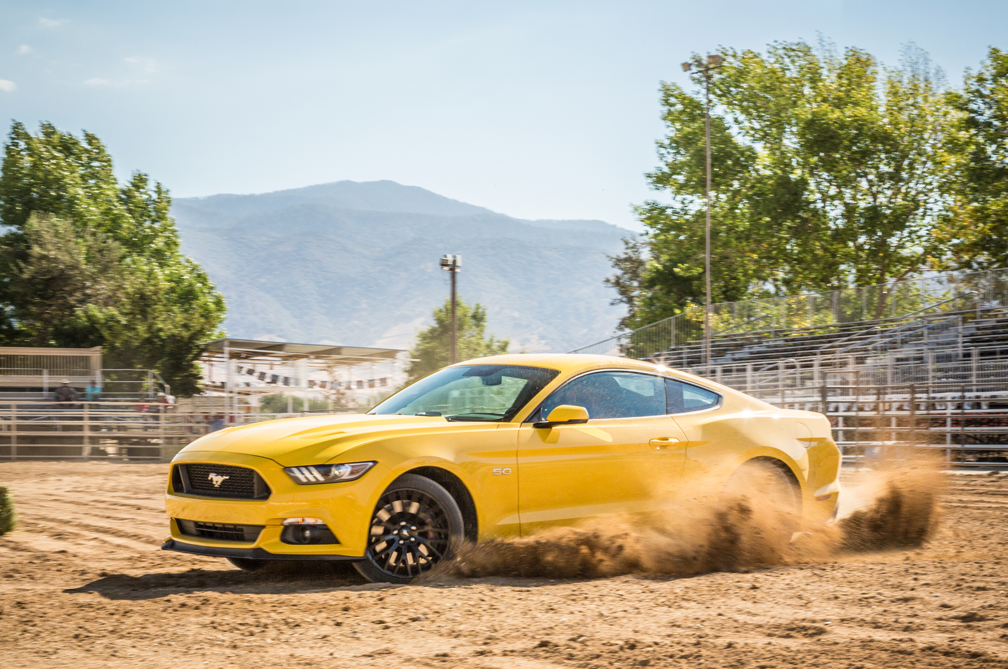 One bright spot for the Mustang is its high-end interior, which is noticeably better than the Chevy's.