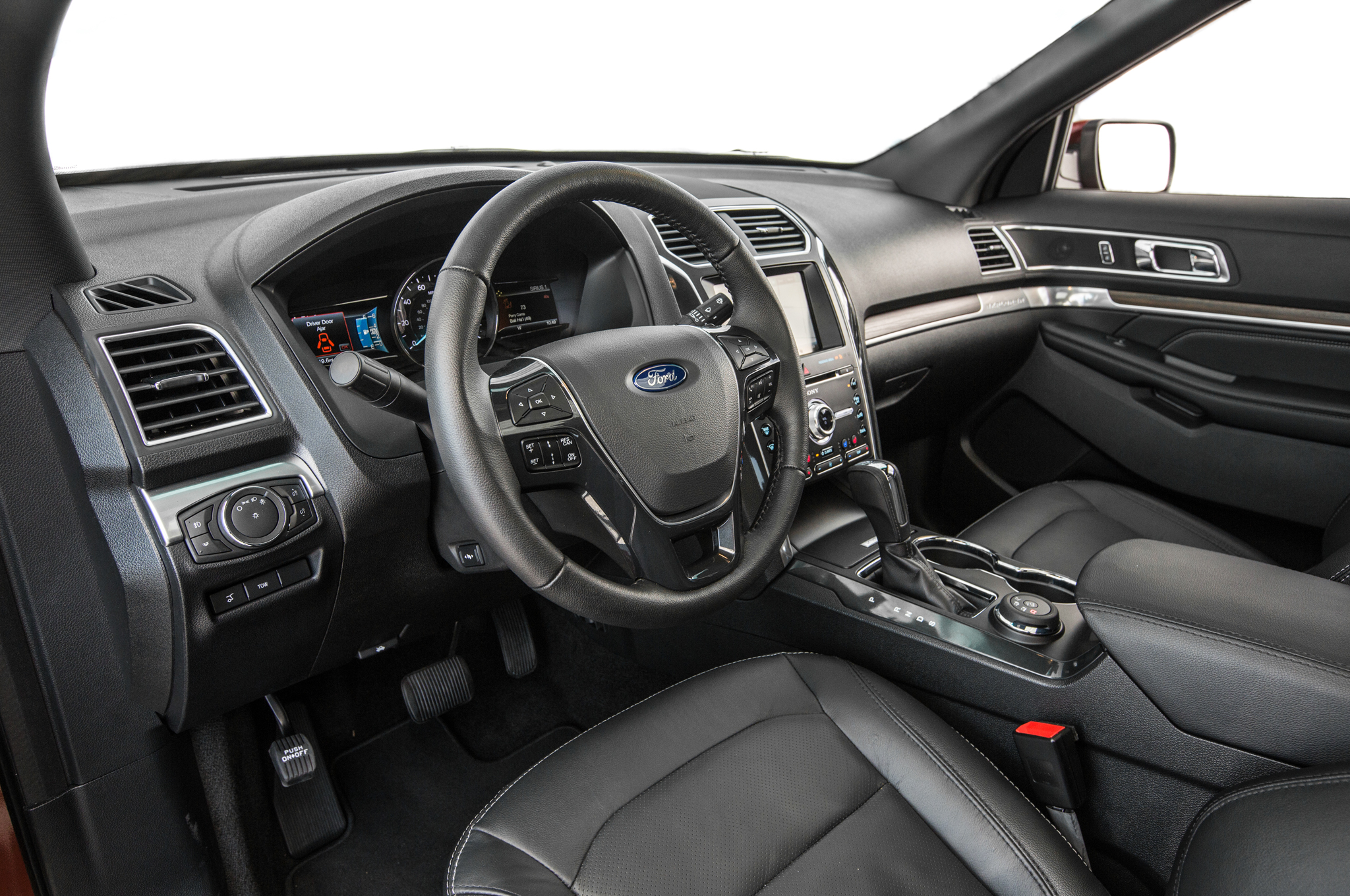 2016 Ford Explorer 2 3l Ecoboost Awd Review First Test Motor Trend