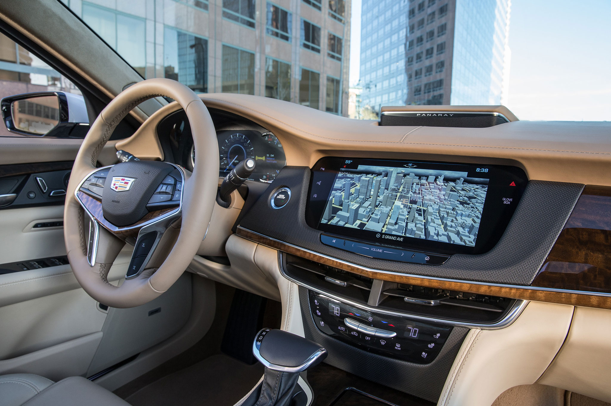 2016 Cadillac Ct6 First Drive Review Motor Trend