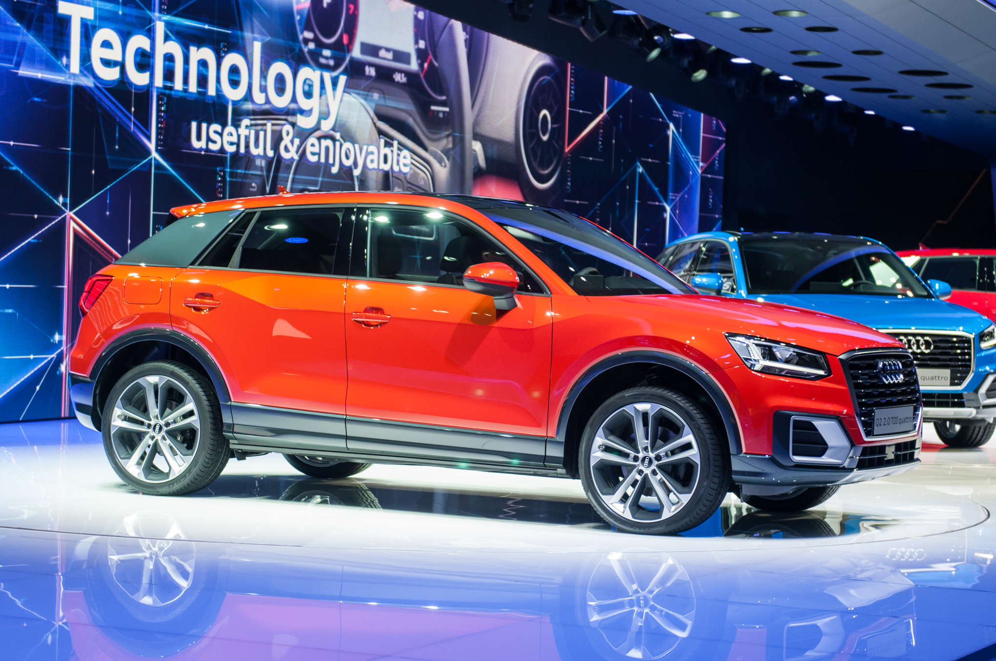 2017 Audi Q2 First Look Review Alpha Sports 150 Wiring Diagram Audis Mini Crossover Is Aimed At Urbanites