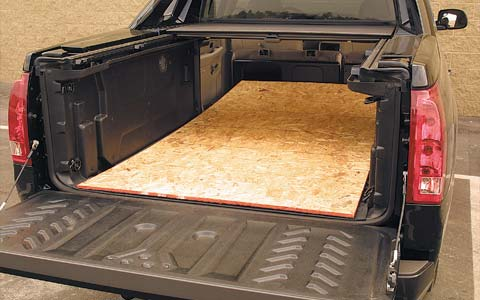 Escalade Ext Bed Size
