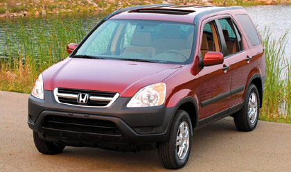 2002 honda cr v first drive road test review truck trend for Motor trend on demand problems
