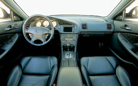 One Year Test Verdict Acura Cl Types Z Acura Cl Types Interior View Front Cabin Dashboard Center Console