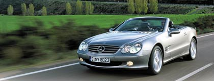 2004 mercedes benz sl600 first drive road test review. Black Bedroom Furniture Sets. Home Design Ideas