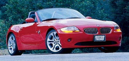 2004 Bmw Z4 One Year Road Test Update Motor Trend