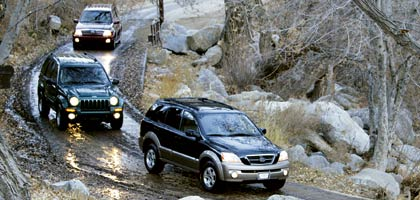 0404 06l 2004 jeep liberty limited and 2004 kia sorento ex and 2004. Cars Review. Best American Auto & Cars Review