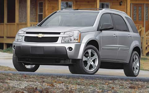 2005 Chevrolet Equinox - First Drive & Road Test Review ...