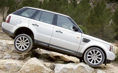 2006 range rover review overview specs road tests. Black Bedroom Furniture Sets. Home Design Ideas