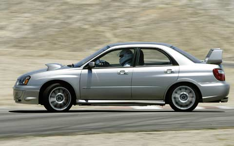 2005 Subaru Impreza And Mitsubishi Evolution Rally Sedan