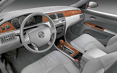 Z Buick Lacrosse Front Interior View on 2007 Buick Lacrosse Cxl Reviews