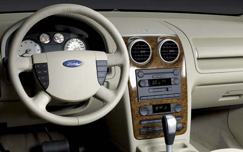 Z Ford Freestyle Front Interior View on Fiat 500 With Lamborghini Engine