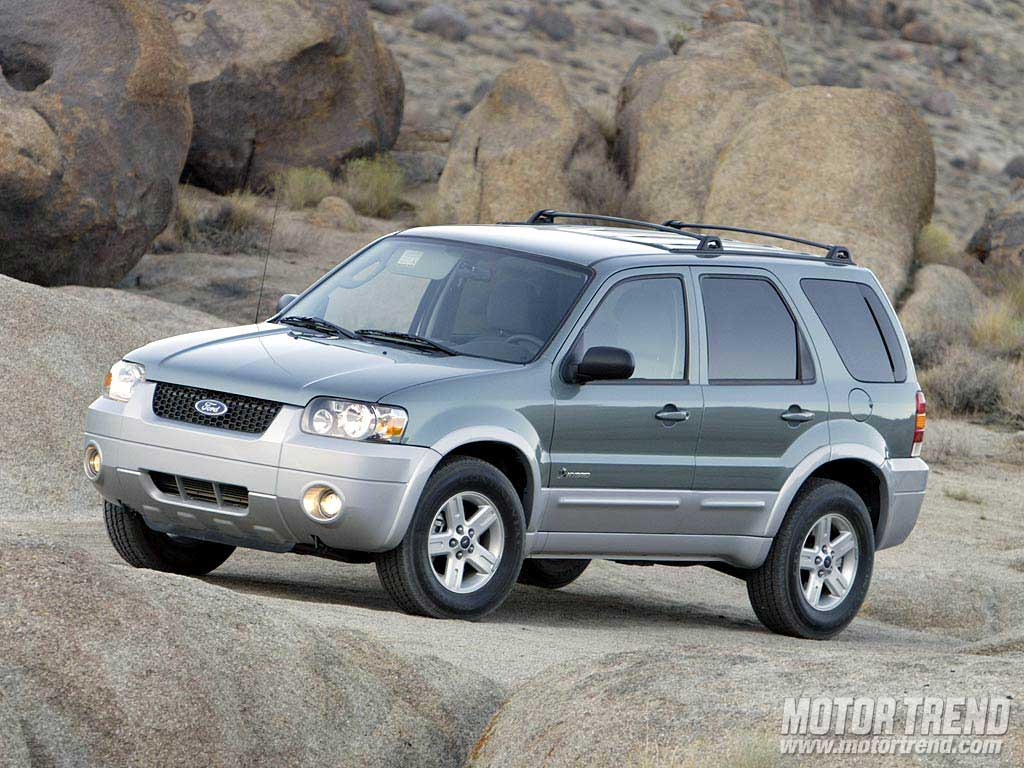 2005 sport utility of the year wallpaper gallery motor trend for Motor ford escape 2005