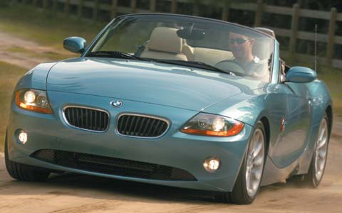 2003 Bmw Z4 Price Reviews Specs Amp Road Test Motor Trend