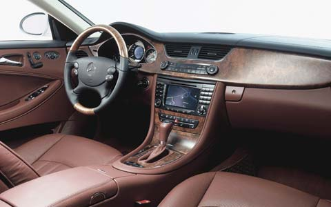 2006 mercedes benz cls500 first look motor trend. Black Bedroom Furniture Sets. Home Design Ideas