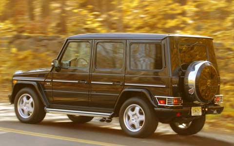 2005 mercedes benz g55 amg suv engine performance road for 2005 mercedes benz suv