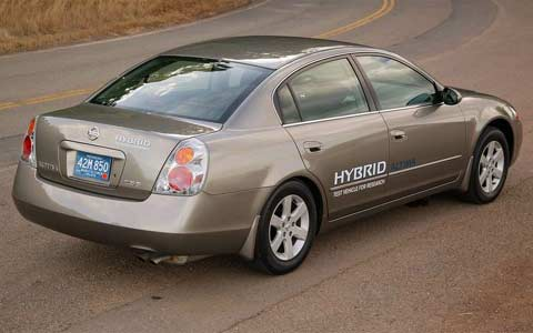 2007 nissan altima hybrid first drive motor trend. Black Bedroom Furniture Sets. Home Design Ideas