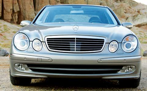 2003 mercedes benz e500 one year test verdict motor trend for Mercedes benz e500 2003
