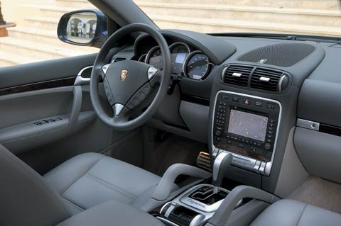 First Drive Porsche Cayenne Z Porsche Cayenne Front Interior View on 2003 Dodge Ram Car Show