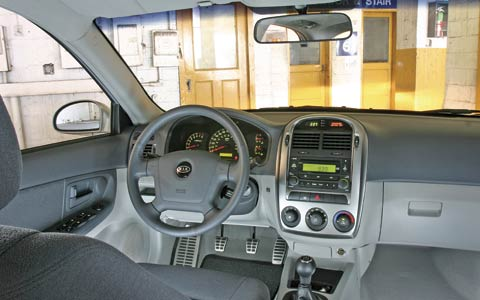 2005 chevrolet cobalt ls vs ford focus zx4 st vs kia. Black Bedroom Furniture Sets. Home Design Ideas