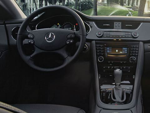 2006 mercedes benz cls500 review motor trend. Black Bedroom Furniture Sets. Home Design Ideas