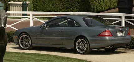 4th Place Mercedes-Benz CL65 AMGStupid fast, but lacking exclusivity; enough already with the electronics.