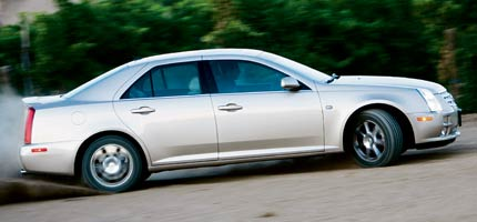 4th Place 2005 Cadillac STS V8GM's premium division continues to improve, but so do the rest.