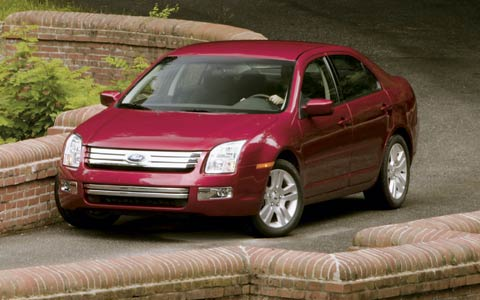 2006 ford fusion first drive motor trend. Black Bedroom Furniture Sets. Home Design Ideas