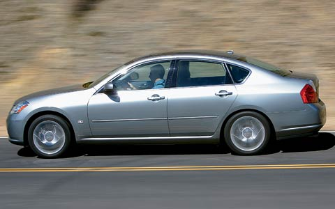 2006 infiniti m35 m45 2006 motor trend car of the year for Motor trend drivers car of the year