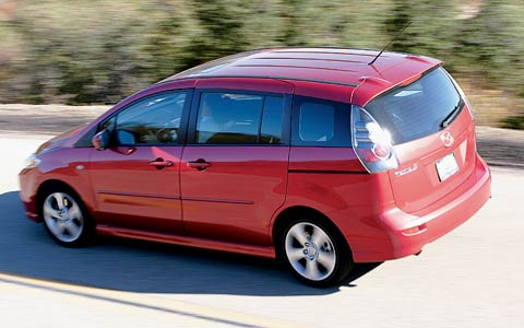 2006 mazda mazda5 2006 motor trend car of the year finalist for Motor trend drivers car of the year
