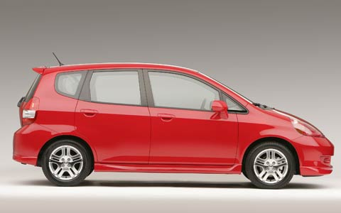 2007 honda fit achieves top safety rating auto news. Black Bedroom Furniture Sets. Home Design Ideas